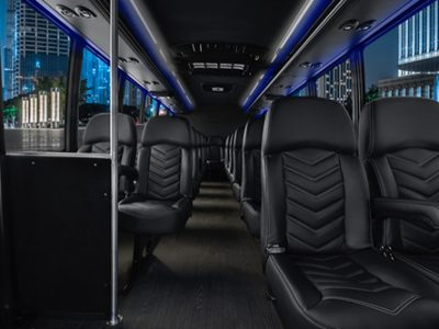 Los Angeles mini bus rental